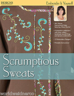 Designs in Machine Embroidery DIME Embroider It Yourself - Scrumptious Sweats