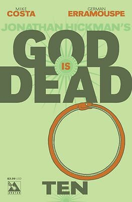 God is Dead #10 (NM)`14 Costa/ Erramouspe  (Cover A)