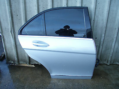 2008 MERCEDES W204 C200 O/S RIGHT REAR DOOR COMPLETE