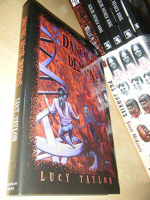 Lucy Taylor DANCING WITH DEMONS 1st/HB SGN/LTD MINT Obsidian Press Hardcore