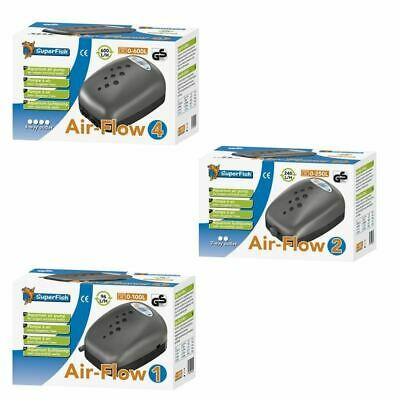 Superfish Air-Flow Aquarium Air Pump Fish Tank Tropical Marine Coldwater Airpump