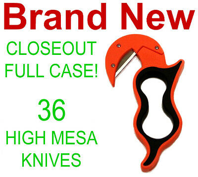 Closeout Full Case! 36 New High Mesa Skinning Knives,game/deer/fish Field Knife