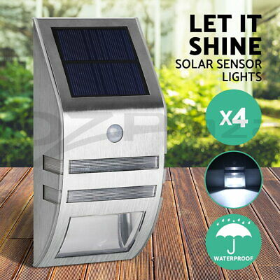 100 LED Solar Sensor Light Motion Security Light Detection Garden FLood