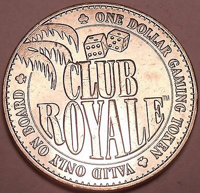 ROLL (20) CLUB Royale $1 00 Gaming Tokens~The Ship That Sank