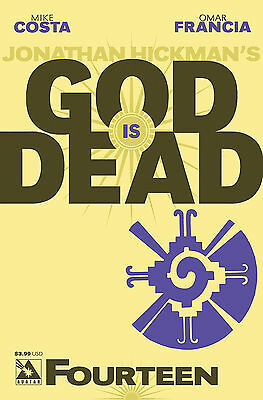 God is Dead #14 (NM)`14 Costa/ Francia  (Cover A)