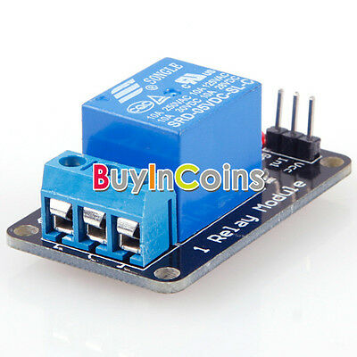 Effective Stable 1 Channel 5V Indicator Light LED Relay Module For Arduino