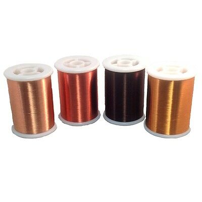 Pickup Winders Kit #6 - 42 Red & Natural 42 Plain 42H Formvar Copper Magnet Wire
