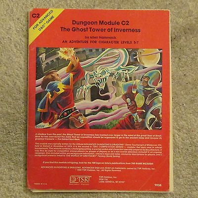 dungeons & dragons Ghost Tower of Inverness  c2  module g vg