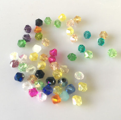 HOT ! Glass Crystal #Bicone Spacer Beads 4mm,6mm,8mm