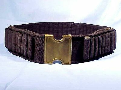 Mills .45-70 Blue Web CARTRIDGE BELT With Plate