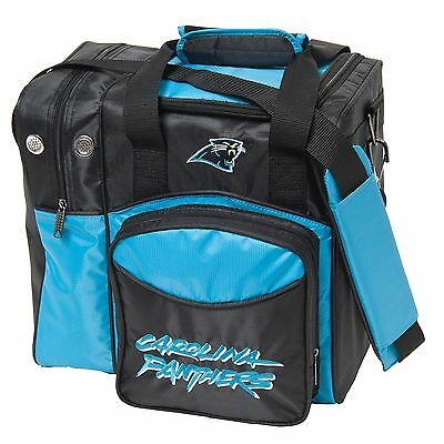 NFL Single Tote 1 Ball Bowling Bag Panthers