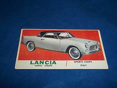 1961 Topps Sports Cars Trading Card Lancia Appia Coupe #59 LLA