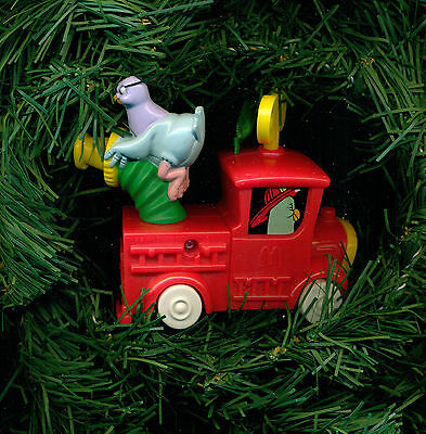 fire engine Animaniac Goodfeathers action toy custom themed Christmas ornament