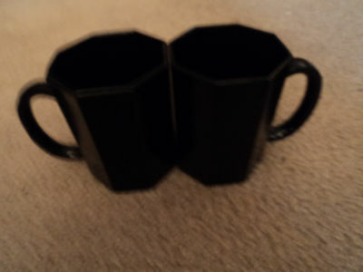 LOT OF 2 ARCOROC OCTAGON COFFEE CUPS