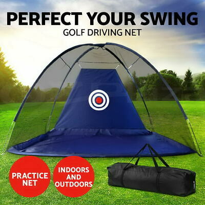 Portable Golf Training Net Tent Practice Driving Chipping Soccer Cricket Target0