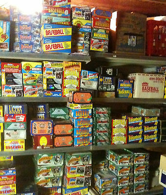 20 to 25 year OLD cards---- Huge Lot of VINTAGE Baseball Cards in UNOPENED Packs