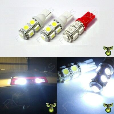 2 White & 2 Red 9SMD LED Truck Cargo Area Bed Lights & 3rd Third Brake 2xR2+2xR1