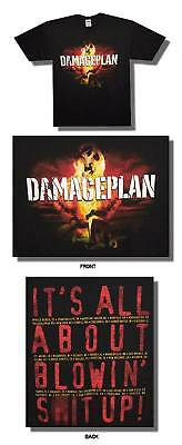 DAMAGEPLAN IT'S ALL BLOWIN' S**T UP TOUR T-SHIRT XL NEW