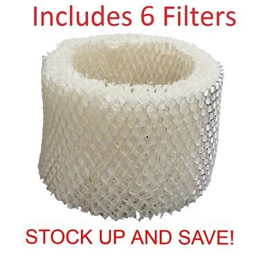 Humidifier Filter Replacement for Protec Kaz Vicks WF2 - 6 Pack