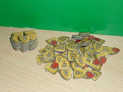 Dungeons & Dragons / D&D - Tokens variados (de The Legend of Drizzt Board game)