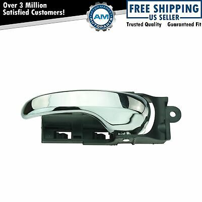 Door Handle Front Inner Chrome Driver Side Left LH LF for Ford F150 F250LD NEW