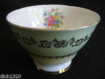 "VINTAGE GLADSTONE CHINA #5789 3"" H OPEN SUGAR BOWL  c.1950's"