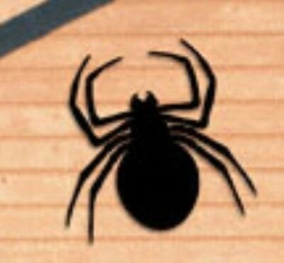 "**NEW** Halloween Wood Lawn Art Yard Shadow/Silhouette - Giant Spider 29"" x 31"""