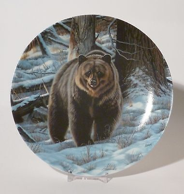 The Grizzly Bear - Wild and Free - Canada's Big Game - Dominion Plate