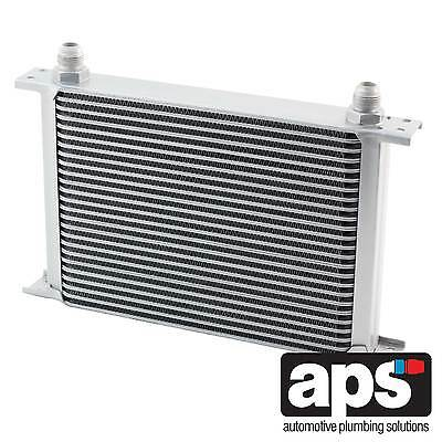 "APS Gearbox / Diff / Engine Oil Cooler 25 Row 235mm 1/2"" BSP Male Fittings"