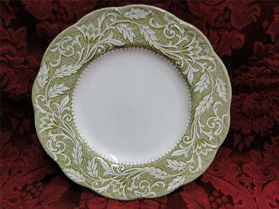 Meakin, J & G, Renaissance Green, Ironstone: Bread Plate (s) AS IS Crazing