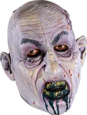 Miss Undead 3//4 Vinyl Mask Zombie Girl Lady Halloween Child Costume Accessory