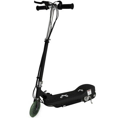New Electric E Scooter Ride on Rechargeable Battery Kids Toys Scooters 24V BLACK
