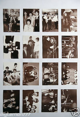 The Beatles Black & White Set of 16 Postcards