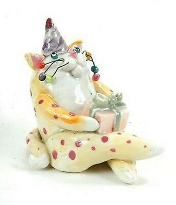 Adorable Birthday Lacombe Cat 48/350 Birthday Kitty Collectible 12145