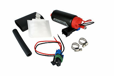 Aeromotive Stealth Universal 340Lph 340 HP Fuel Pump Center Inlet Mustang Civic