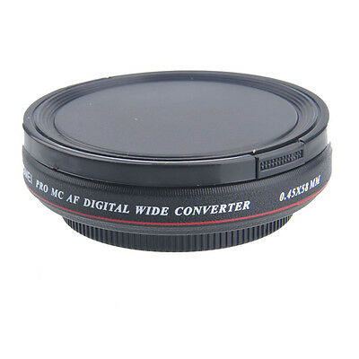 58mm ZOMEI Ultra Slim 0.45x Wide Angle Filter Lens for Nikon Canon DSLR