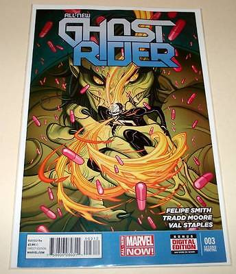 ALL-NEW GHOST RIDER # 3  Marvel Comic  Sept 2014   NM 2nd PRINTING VARIANT COVER