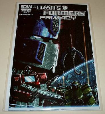 The TRANSFORMERS : PRIMACY # 1  IDW Comic  Aug 2014   NM