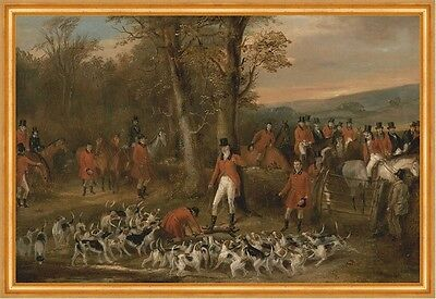 The Berkeley Hunt, 1842: The Death Francis Calcraft Turner Jagd Pferd B A2 00130