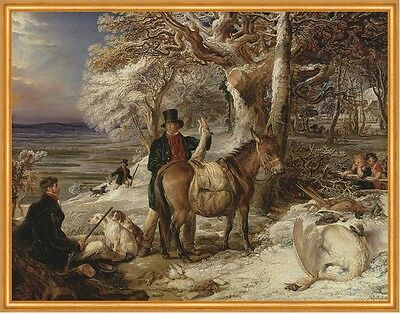 The Days Sport James Ward Pferde Jäger Jagen Hunde Kinder Wald Beute B A1 00156