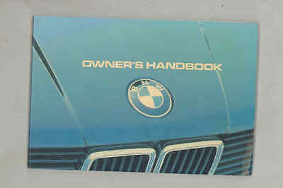 1983 BMW 318i ORIGINAL Owner's Manual wu4337