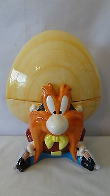 Warner Brothers 1993 Yosemite Sam With Guns Cookie Jar #G497