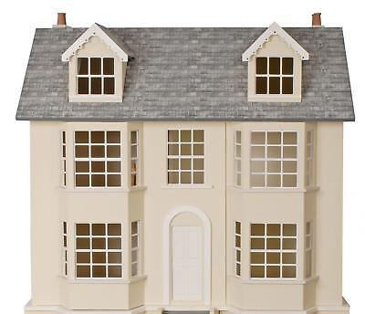 1:12 Scale Dolls House Regency Town House Unpainted Flat Pack MDF Wood Kit MJ07