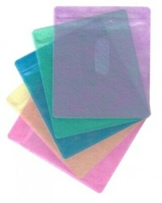 100 CD Double-sided Plastic Sleeve Assorted Color
