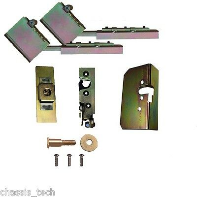 V Universal Tailgate Suicide Swing Hinges & Latches Hidden  Weld In Parts