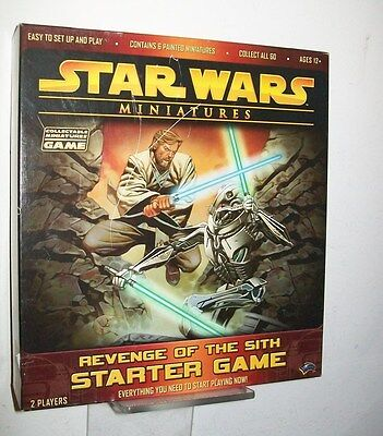 Revenge Of The Sith Used Starter Game With Extras And 2 New Booster Packs