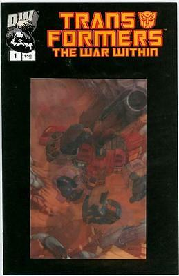 Transformers The War Within #1 Lenticular Animated Variant Nm Dreamwave