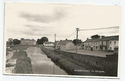irish postcard ireland kildare robertstown village