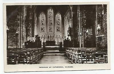 irish postcard ireland kildare cathedral interior