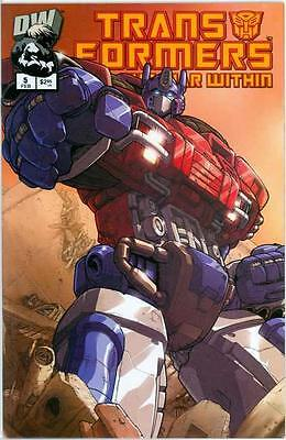 Transformers The War Within #5 Pat Lee Variant Nm Rare Dreamwave